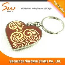 migliore regali di natale a forma di cuore catena di metallo chiave per migliore amico