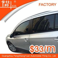 New arrival car window film privacy screen protector black car tinting film