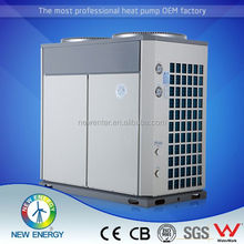 air exchanger with hydrophilic coating 220v 50hz air source heat pump 80kw rotate type