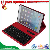 Good design for ipad case , wireless bluetooth keyboard case for ipad MINI