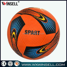 2015 new rubber soccer ball brand name, football ball brand name