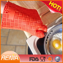3 finger silicone glove oven mitt and heat resistance silicone glove 3 fingers