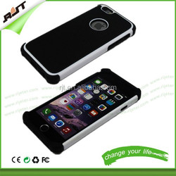 Hot sale phone cases hybrid armor cell phone case for iphone6,2 in 1 combo mobile phone back case for iphone 6