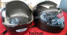 2015 new arrival ODM OEM Carbon Fiber Motorcycle helmet open face helmet