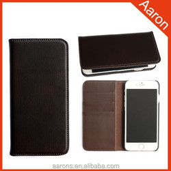 new arrival leather case for iphone6 Italian leather mobile phone case