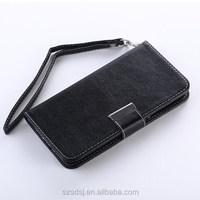 Hot selling flip wallet case for Samsung Galaxy S6, for Samsung Galaxy S6 leather case with credit card
