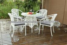 Nueva colección 2014 de Sillas y mesa para jardín de rattán sintético, Mobilario de exterior y jardín