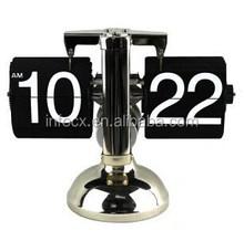 High quality retro auto flip clock/flip desk clock