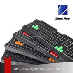 Multiple Language Waterproof multimedia Game keyboard