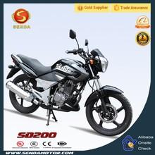 Hot Selling Most Popular 200CC Street Bike Made in China YBR250 SD200