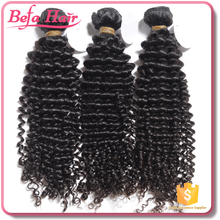 prompt delivery Befa hair Aliexpress hair 6A Kinky Curl Unprocessed Malaysian Hair Products