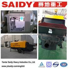 80m3/h diesel concrete trailer pump ,trailer concrete pumps , aggregate conveying pumps