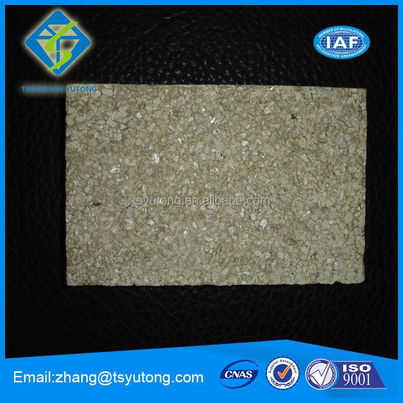 Vermiculite carte pour porte coupe - feu