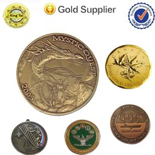 Business gift use and articial style price old gold coin
