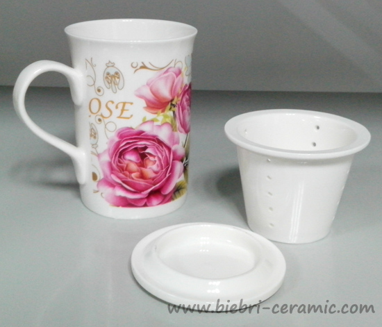 300 ml simple blanc de haute qualit en c ramique porcelaine fine bone china tasses de th. Black Bedroom Furniture Sets. Home Design Ideas