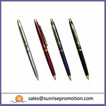High-class customized gold metal fountain pen