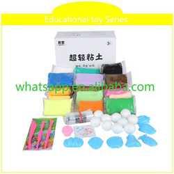 eco friendly toy make handprint clay