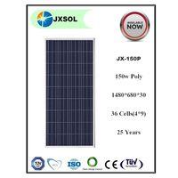 High Quality 150w Solar Panel,price per watt A grade solar panel