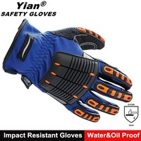 Anti vibration mining safety tool work gloves for handicap