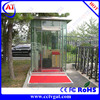 Superior quality glass popular guard house &entrance sentry box