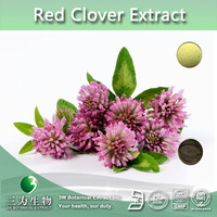 100% natrual Red Clover Flower Extract, Trifolium Pratense Extract, Red Clover Extract Powder