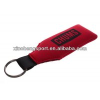 neoprene floating key chain