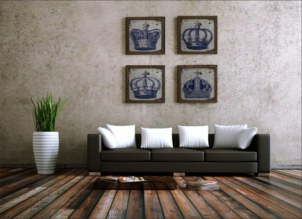Hout woonkamer decoratie for Schilderen moderne volwassen kamer