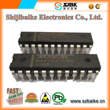 MAX7221CNG Serially Interfaced, 8-Digit LED Display Drivers Maxim IC