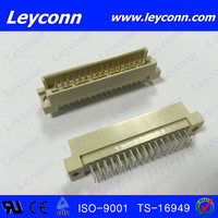 Fast delivery 3 Rows 48 Pin Male Straight Solder/DIP Din 41612 Eurocard Connector