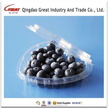 Heart Shaped Cherry Tomato Plastic Containers Fruit Packing