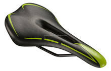 Trade assurance supplier comfortable bicycle saddle dual-track cushion waterproof bike seat for road mountain bicycle