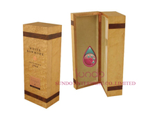 customized wooden wine bottle cases