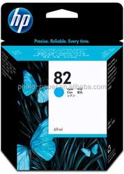 Hot- 69ml Original ink cartridges wholesale HP82 BLACK printer ink cartridge for HP 500/800/100