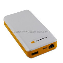 2015 Led indicator stable function travel 3g wifi power bank wireless WiFi router with SIM card slot and LAN port