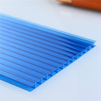 Designer polycarbonate two wall 4mm Plastic Roofing Transparent Panels