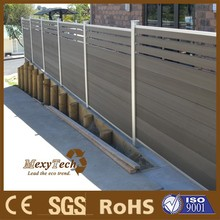 a Trendy Design, a Stylish Product, Alu-WPC Fence.