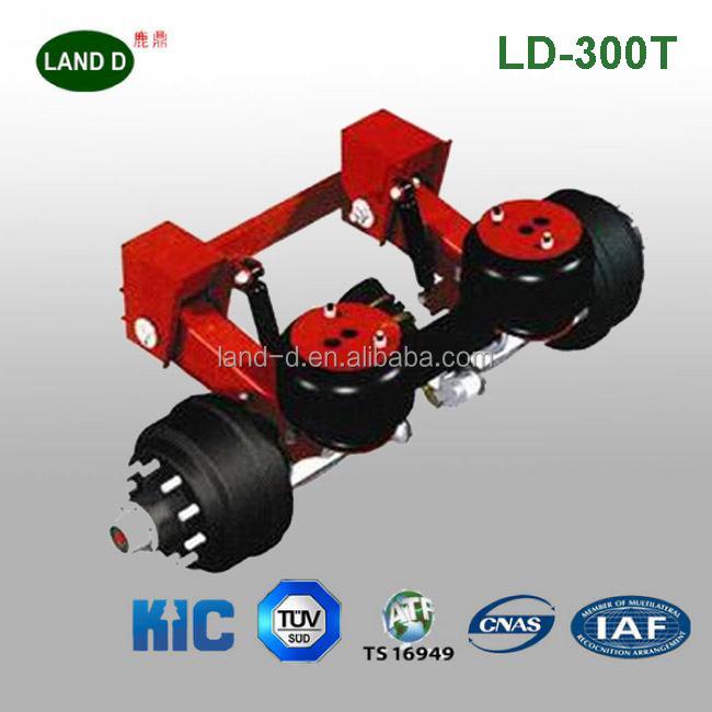 Fifth Wheel Air Ride Suspension : German type c mm casting steel truck fifth wheel plate