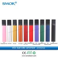 HIgh quality dual coils cartos Smoktech Ego Dual Coils Cartomizer 5ml mega disposable ecig cartridge