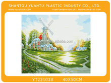 hot selling diy oil painting by number on canvas
