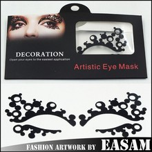 Black eye makeup tools,eye sticker can be used many times