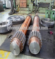 CNC Steel turned lathe precision standard hollow spline shaft