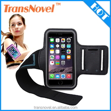 2015 New Product Waterproof Neoprene Reflective Sport Running Armband for iphone 6 sport band, black