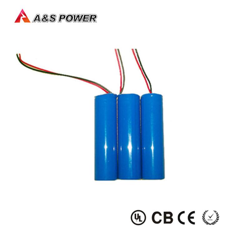 18650 3.7 v Baterai li-ion baterai 2200 mAh untuk Led Lampu Jalan.