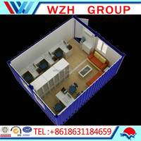 prefab house kits/portable apartments , office ,carport , workshop , warehouse , guard house by WZH