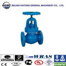 CAST/DUCTILE IRON CLASS 125/150 GLOBE VALVE FOR WATER