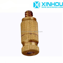 Wholesale brass anti-drip fog spray fine mist jet nozzle