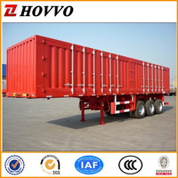 Strengthen Container Semi Trailer,Cargo Box Semi Trailer Used to Carry Goods