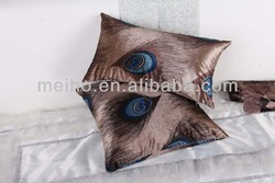 China manufacture whole sale home decor polyester fancy cushion cover