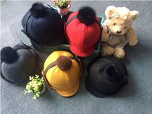 2015 child winter knit baseball hats