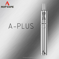 Unique appearance design long wick clearomizer with Ecig tool kit